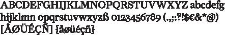 Farnham-Alphabet