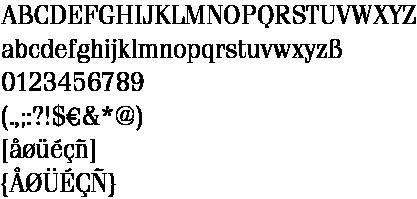 Fenice Alphabet final