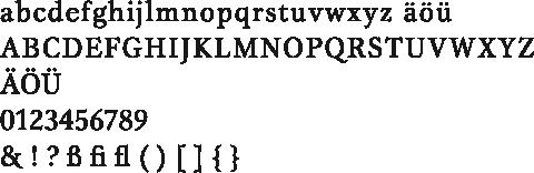 Gamma-Alphabet