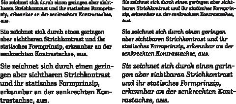 Ibis-Textabschnitte