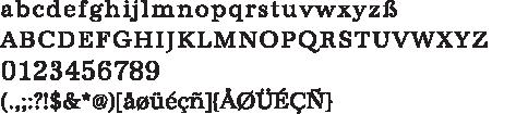 URWAntiqua-Alphabet