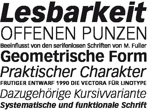 Vectora-Uebersicht