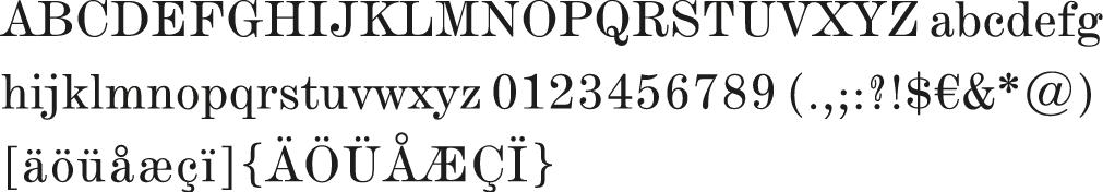 DeVinne_Alphabet